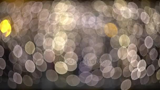 okolní abstraktní bokeh částic pozadí videa 4k