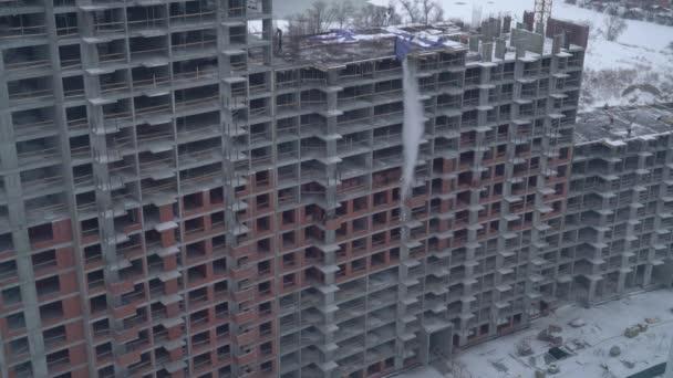 Pohled na budovu byt dům