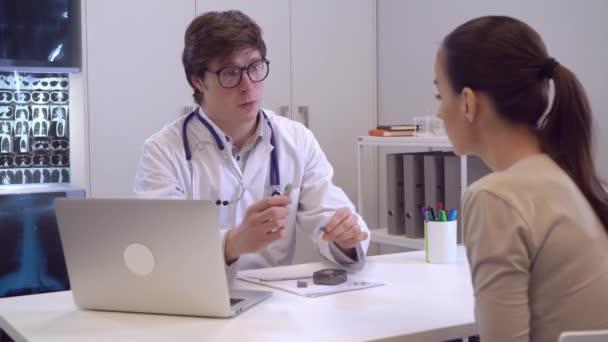 Setkání s endokrinolog v nemocnici
