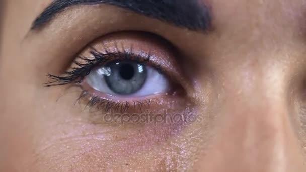 Closeup tvář ženy