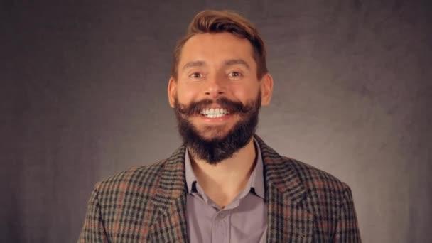 portrait bearded male