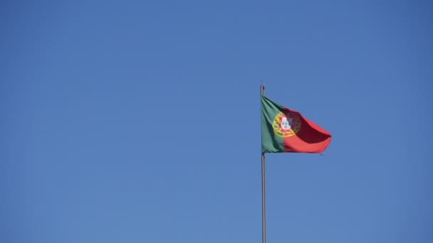 Portugál zászló lassítva