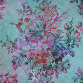 Photo colorful abstract floral background