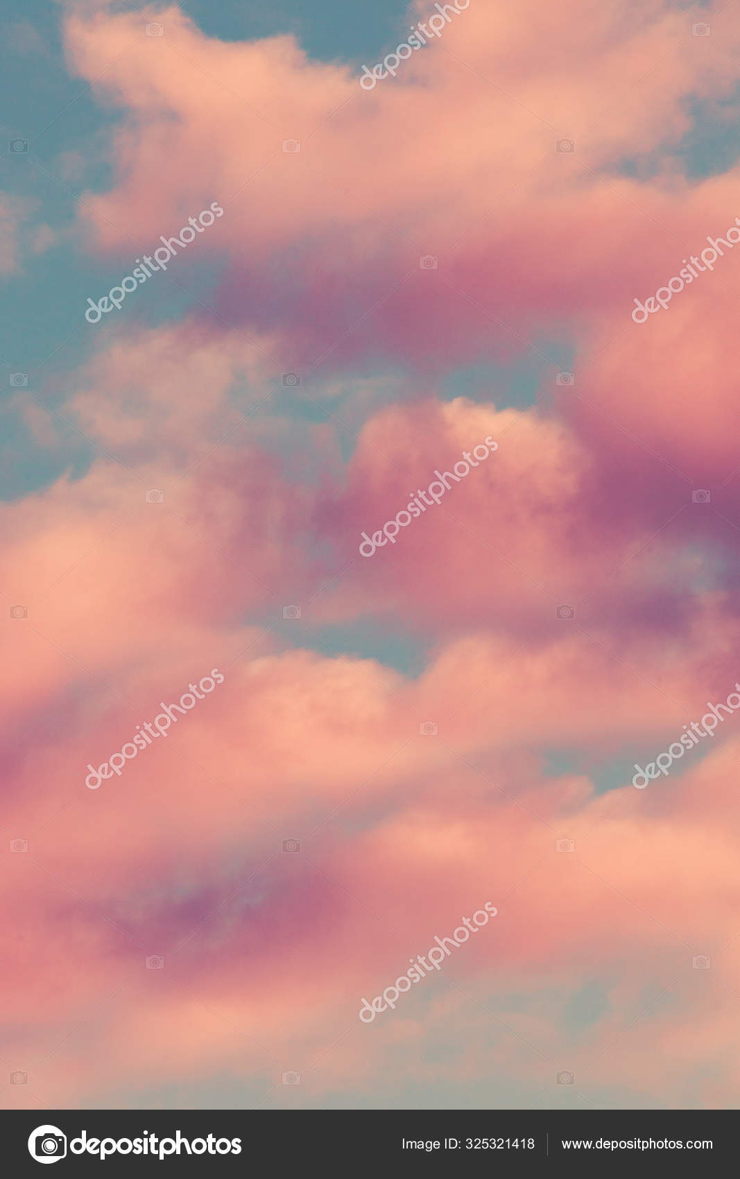 heaven with pink clouds background image stock photo c cokacoka 325321418 depositphotos