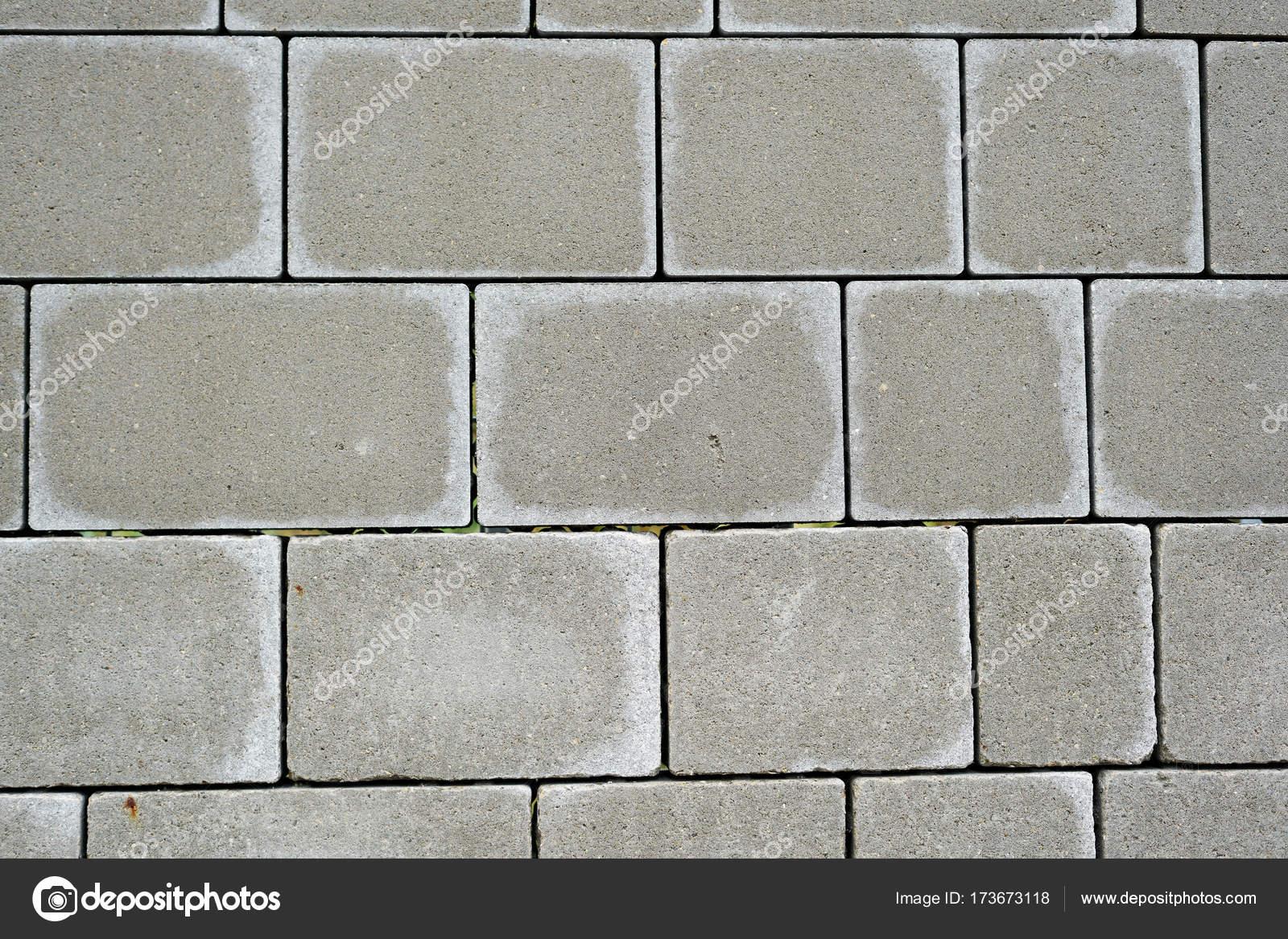 Pavimento di terrazzo coperto con lastre di pietra — Foto Stock ...