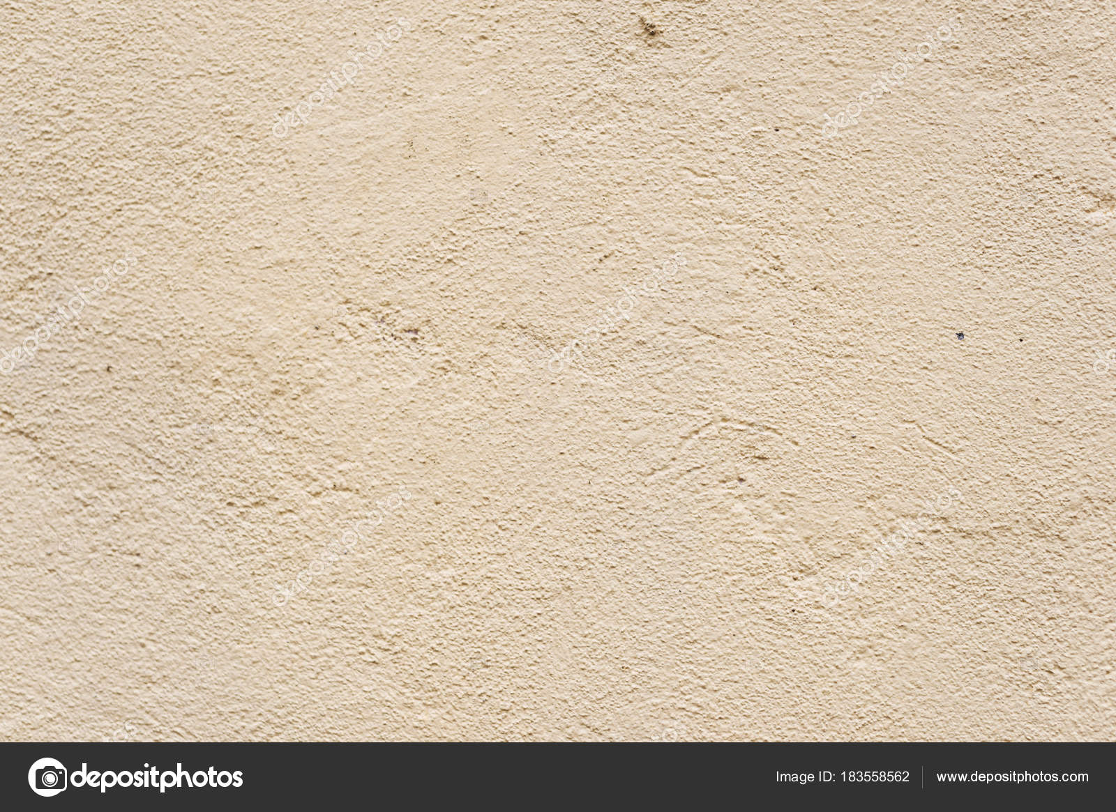 Texture Beige Dyed Cemented Wall, Softly Lined. Exterior Texture Exterior  Wall Of External Walls