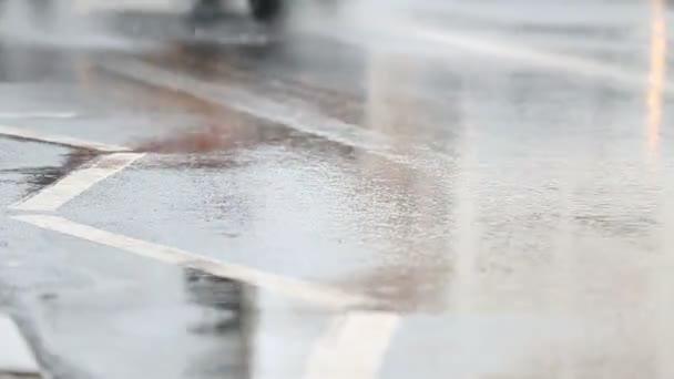 auta jízdy v dešti