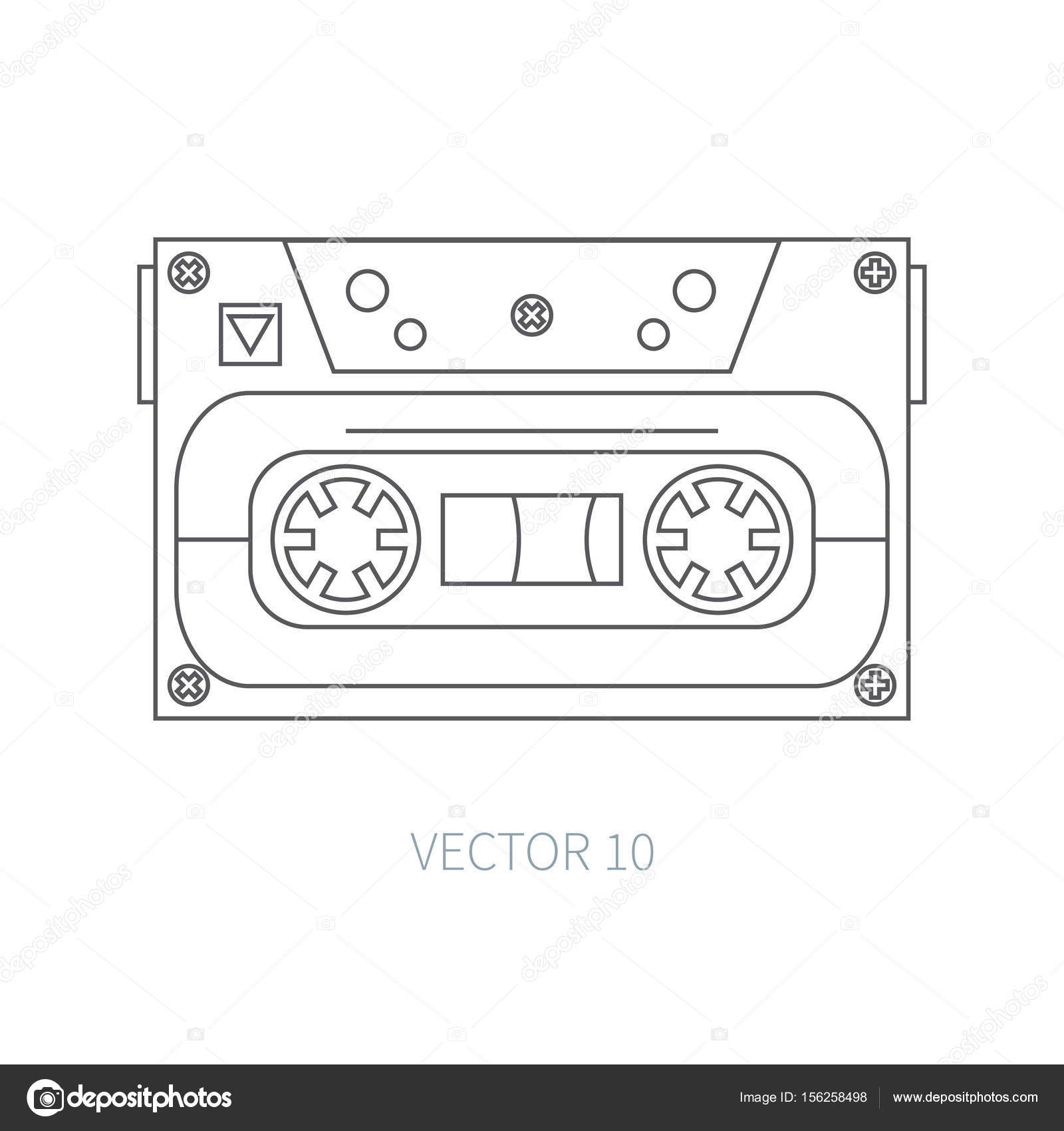 Simple Wallpaper Music Hipster - depositphotos_156258498-stock-illustration-line-flat-vector-icon-audiocassette  Gallery_29049.jpg