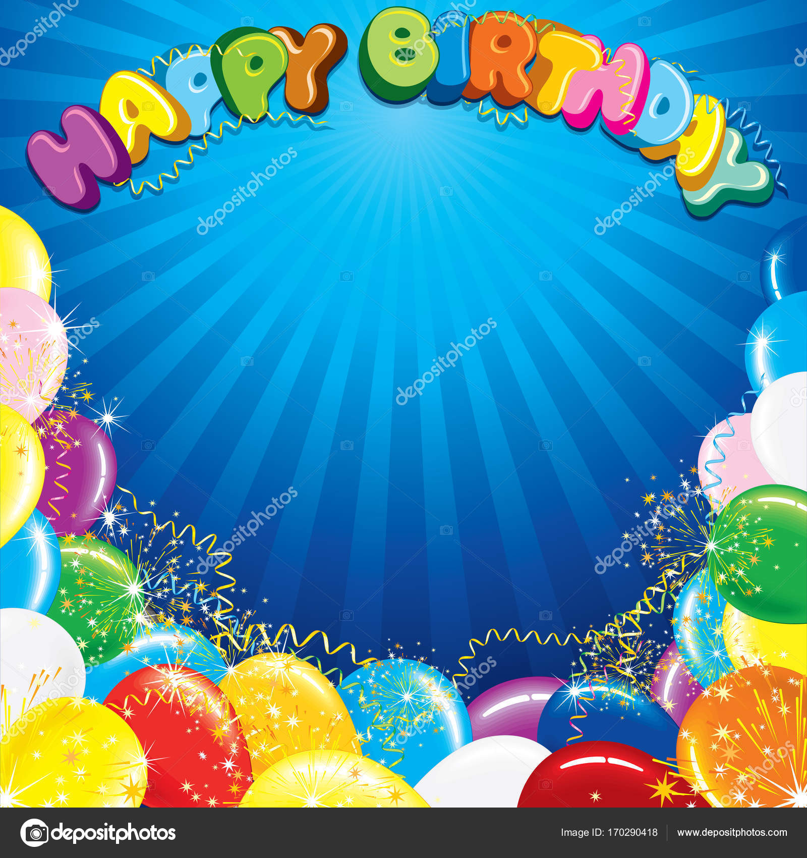 Pictures: downloadable birthday | Colorful Happy Birthday