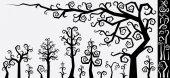 Cartoon Decorative Tree Creation Kit