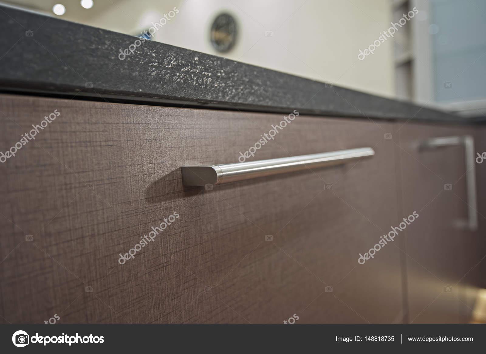 Küche-Innenarchitektur-Schrank-detail — Stockfoto © paulvinten ...