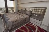 Az apartmanban hálószoba lakberendezés