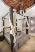 Interior design, a luxus üdülési villa hálószoba