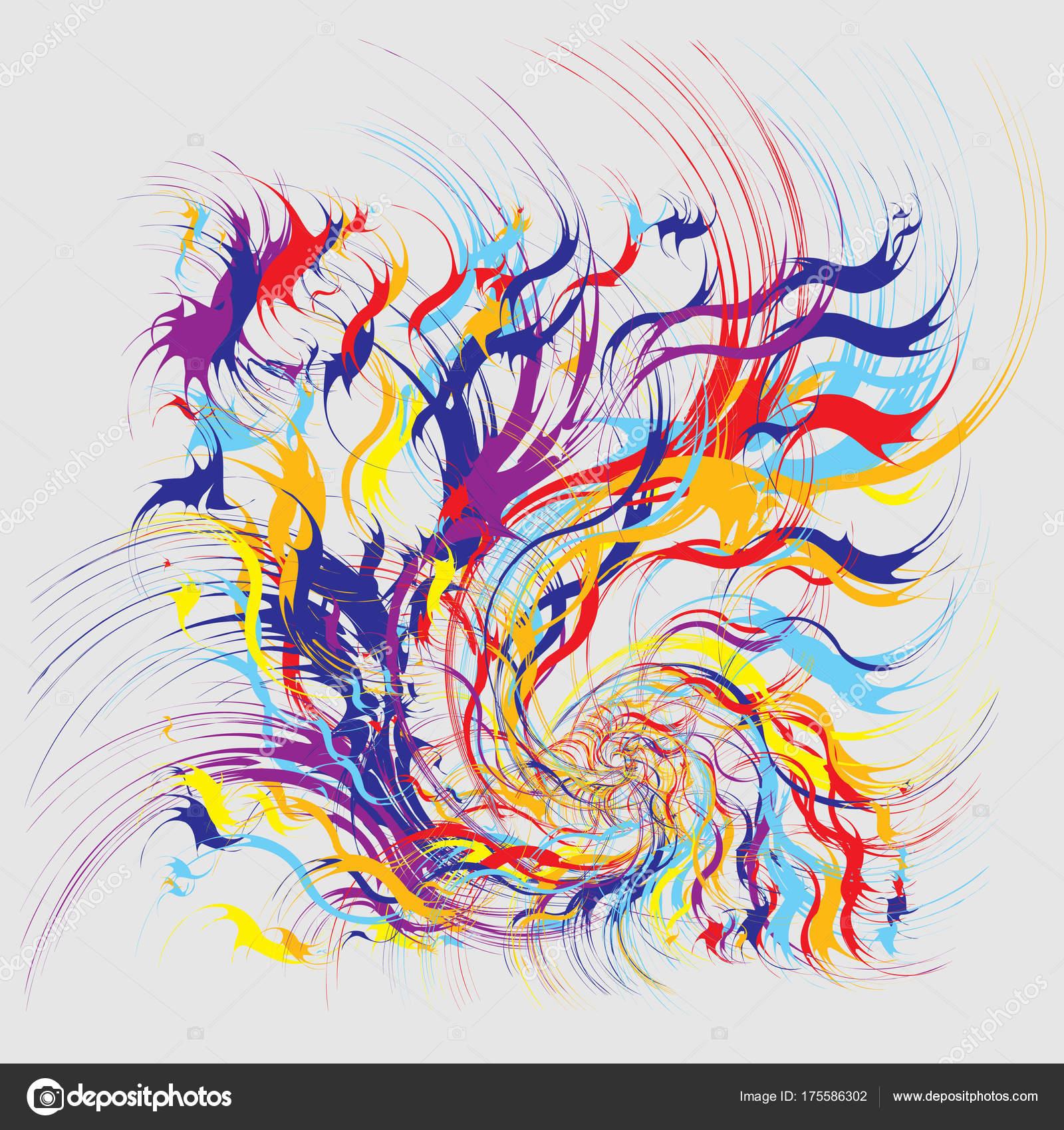 Salpicaduras de pintura abstracta fondo vector de stock supertrooper 175586302 - Salpicaduras de pintura ...