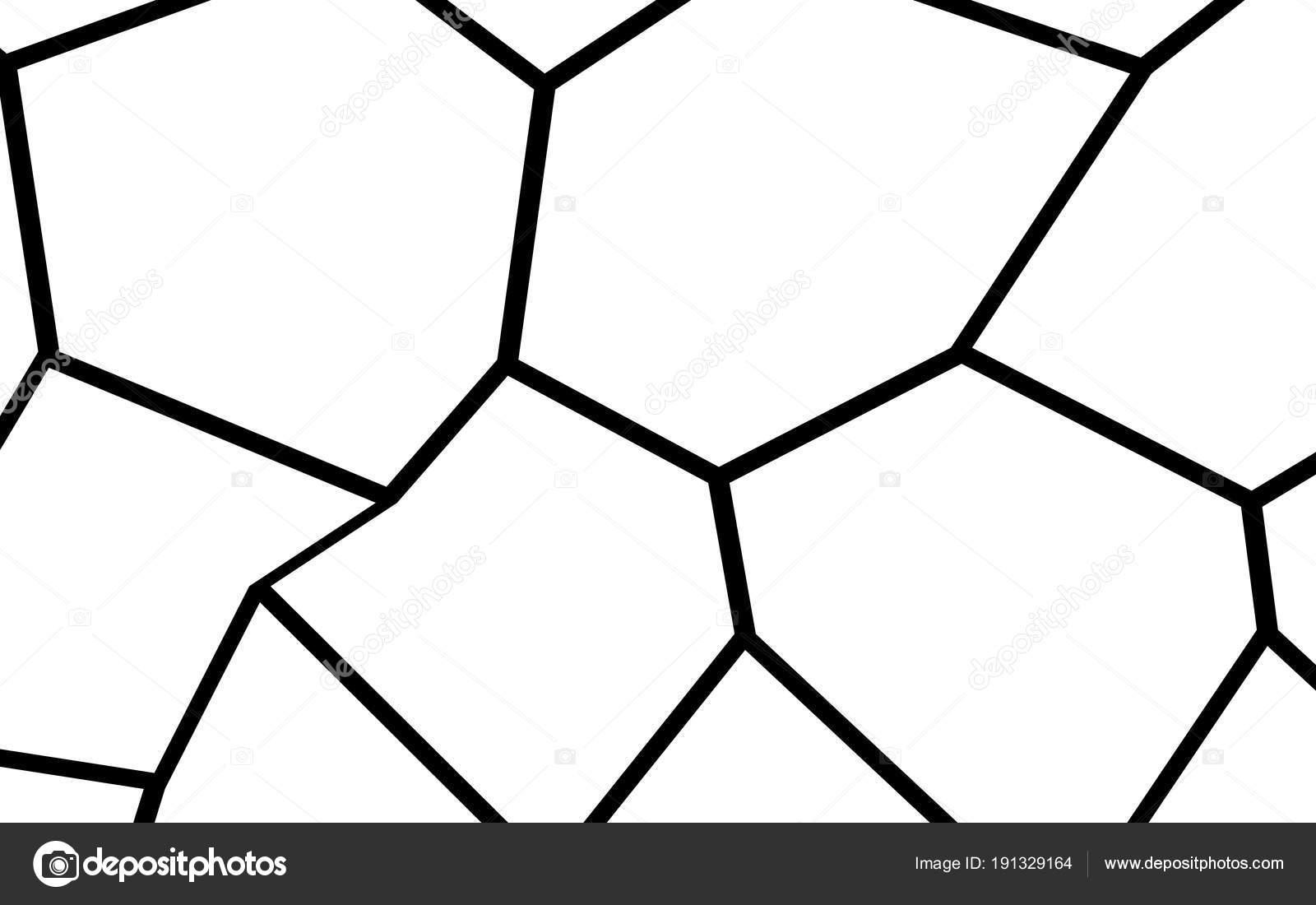 Schwarz / weiß unregelmäßigen Mosaik Vorlage — Stockvektor ...