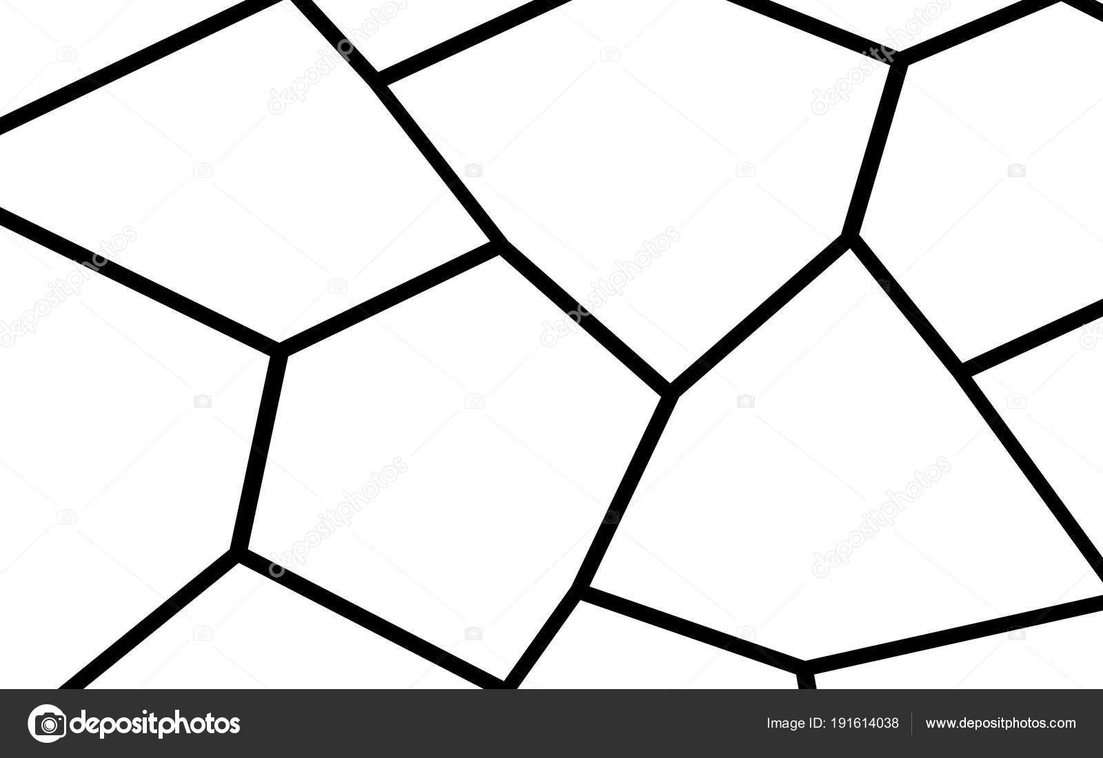 black and white irregular mosaic template stock vector