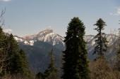 Horské pásmo přírodního parku velký Ju