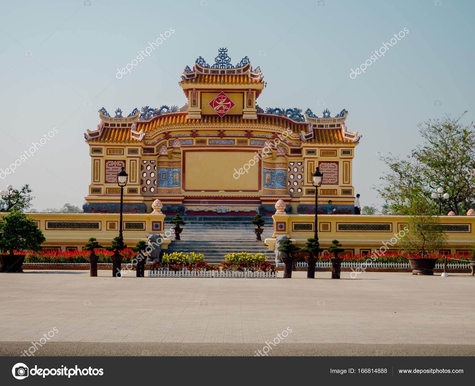 Hue Vietnam 13 September 2017 Schone Tempel Thien Mu Pagode