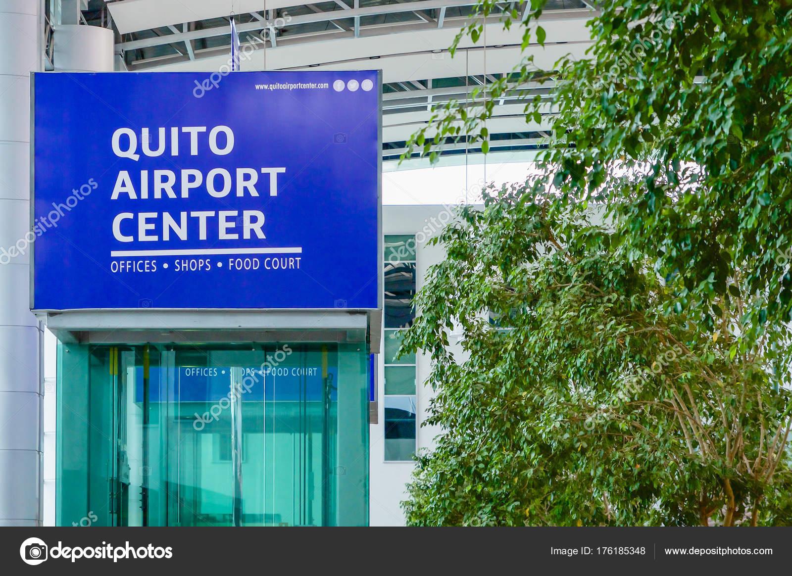 Quito, Ecuador - November 23 2017: Close up of informative sign of