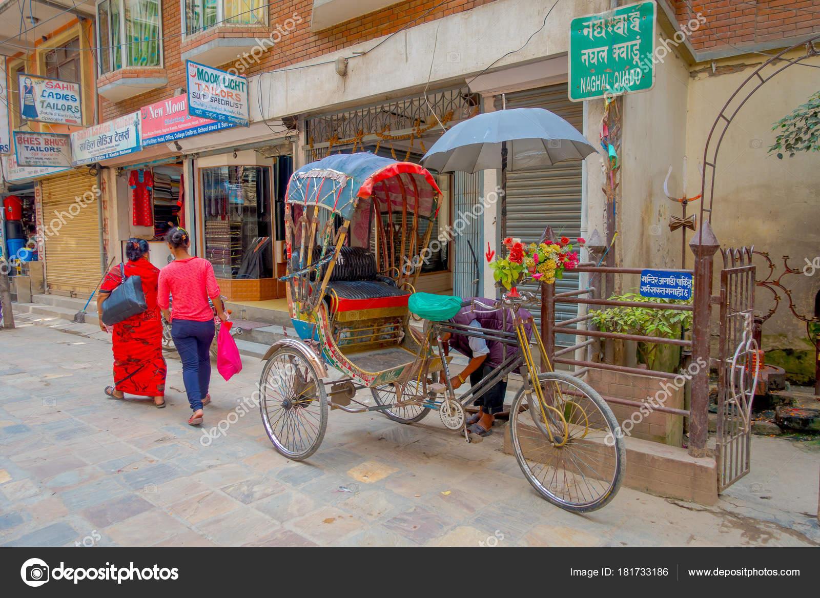 カトマンズ、ネパールでの都市の...