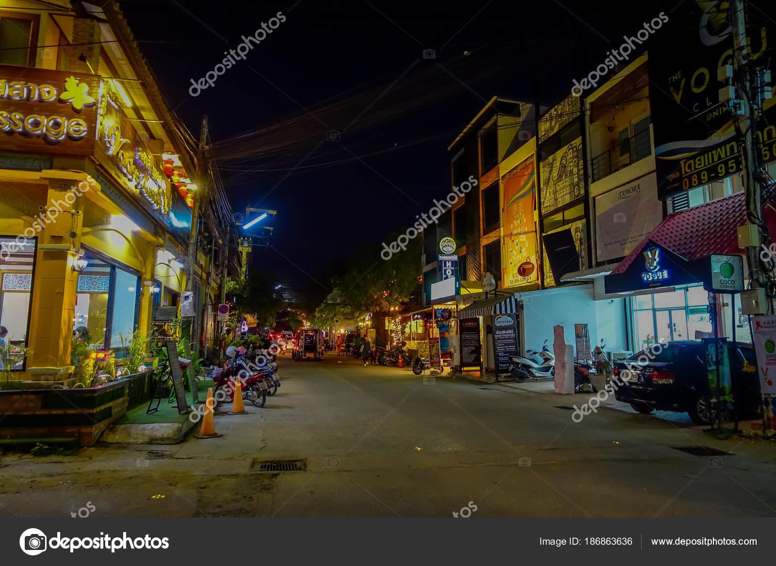 Chiang Rai Tailandia 01 De Febrero De 2018 Vista Exterior De