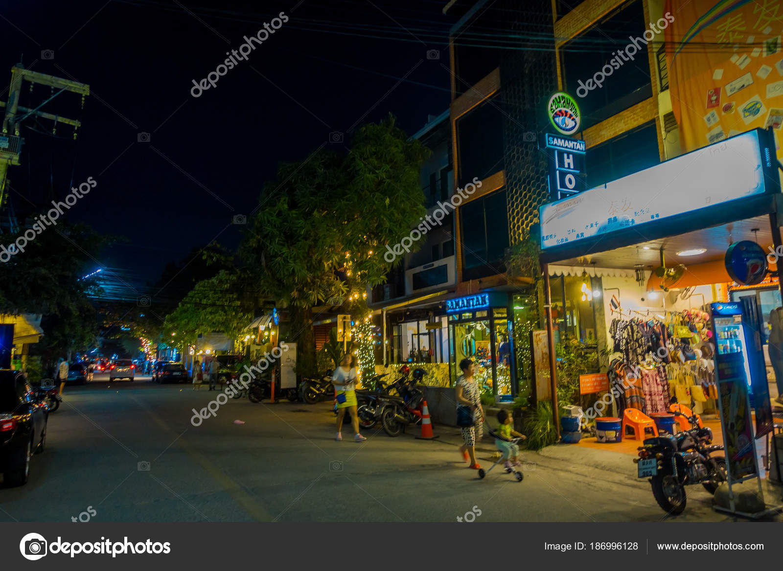 Chiang Rai Tailandia 01 De Febrero De 2018 Desconocidos