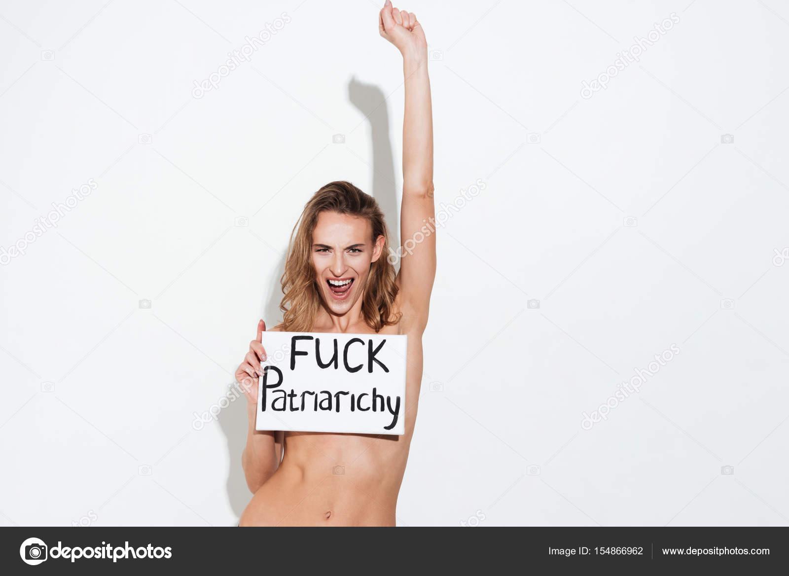 Naked Girl Trembles, Shakes And Screams