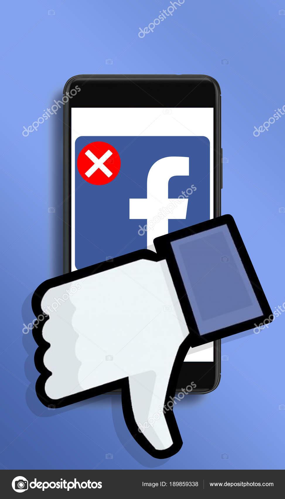 Social campaign to delete Facebook accounts  – Stock Editorial Photo