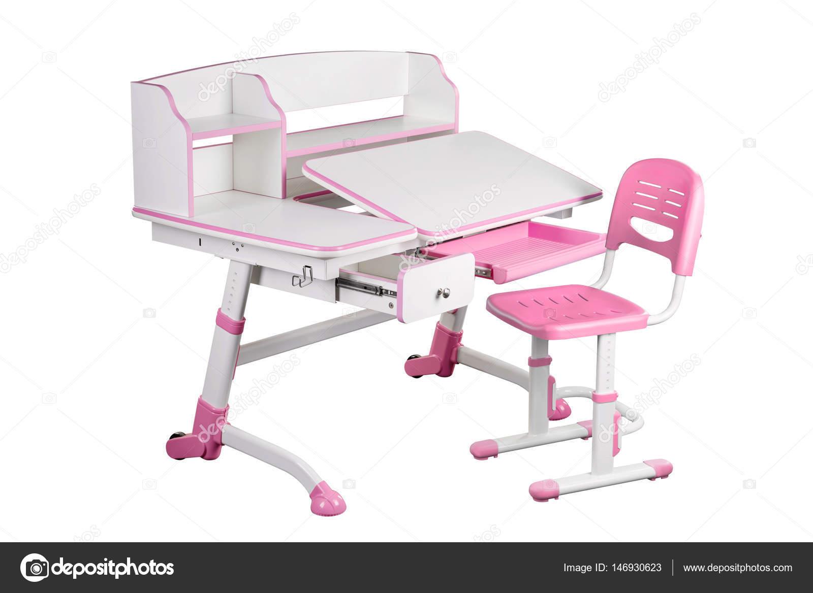 Chaise de bureau et rose rose school u photographie eremey