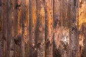 Pannelli verticali in legno marrone. Trama per lo sfondo. Telaio orizzontale