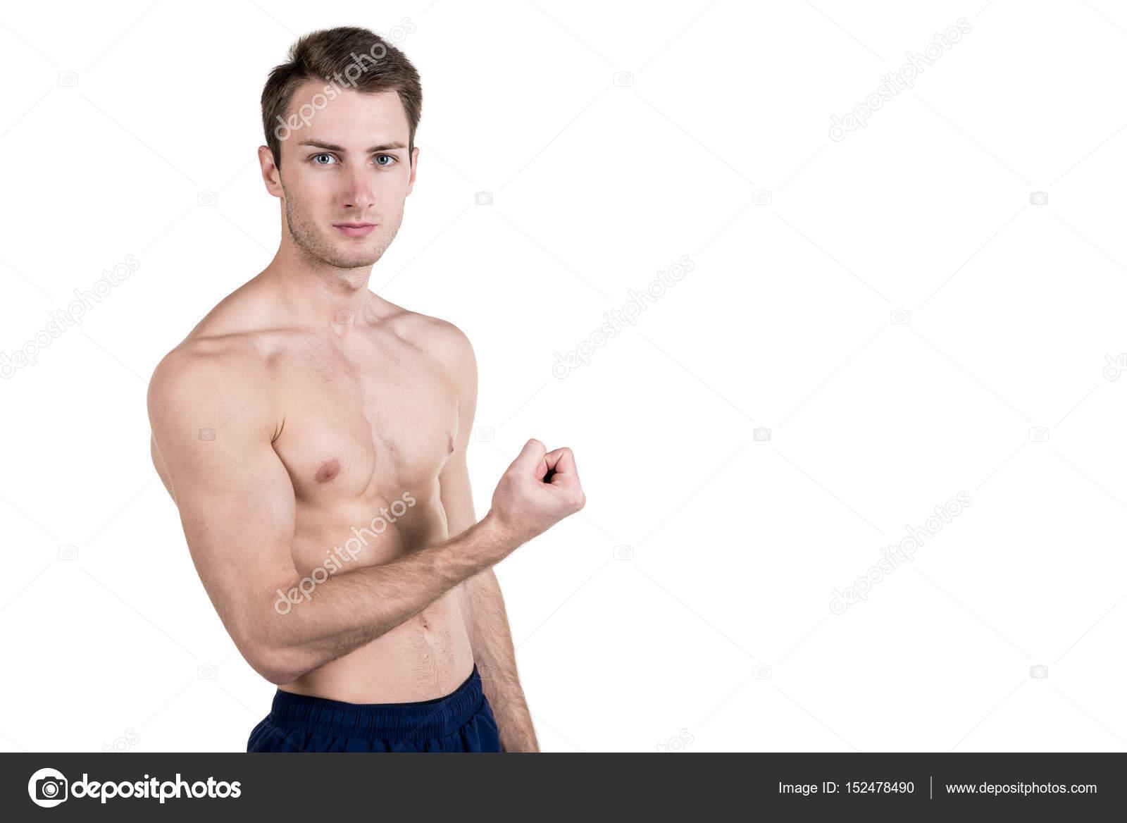 Sport illustrato modello nudo