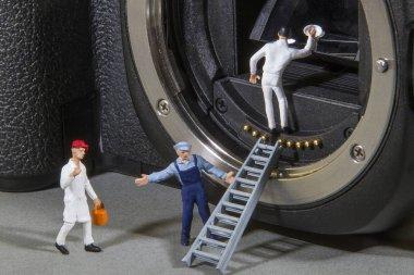 Repair and service of cameras