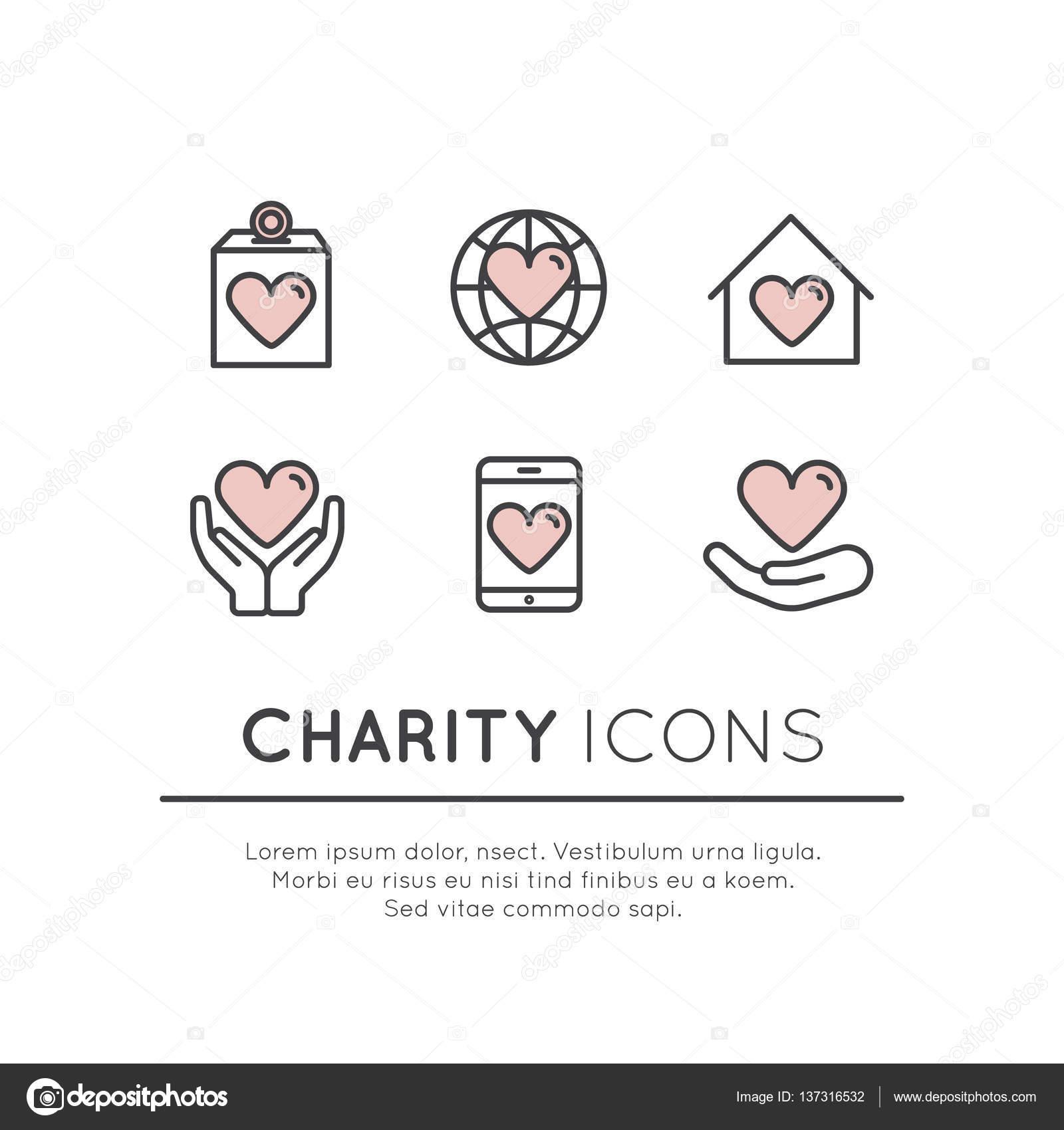 非営利団体と献血センターのグラ...