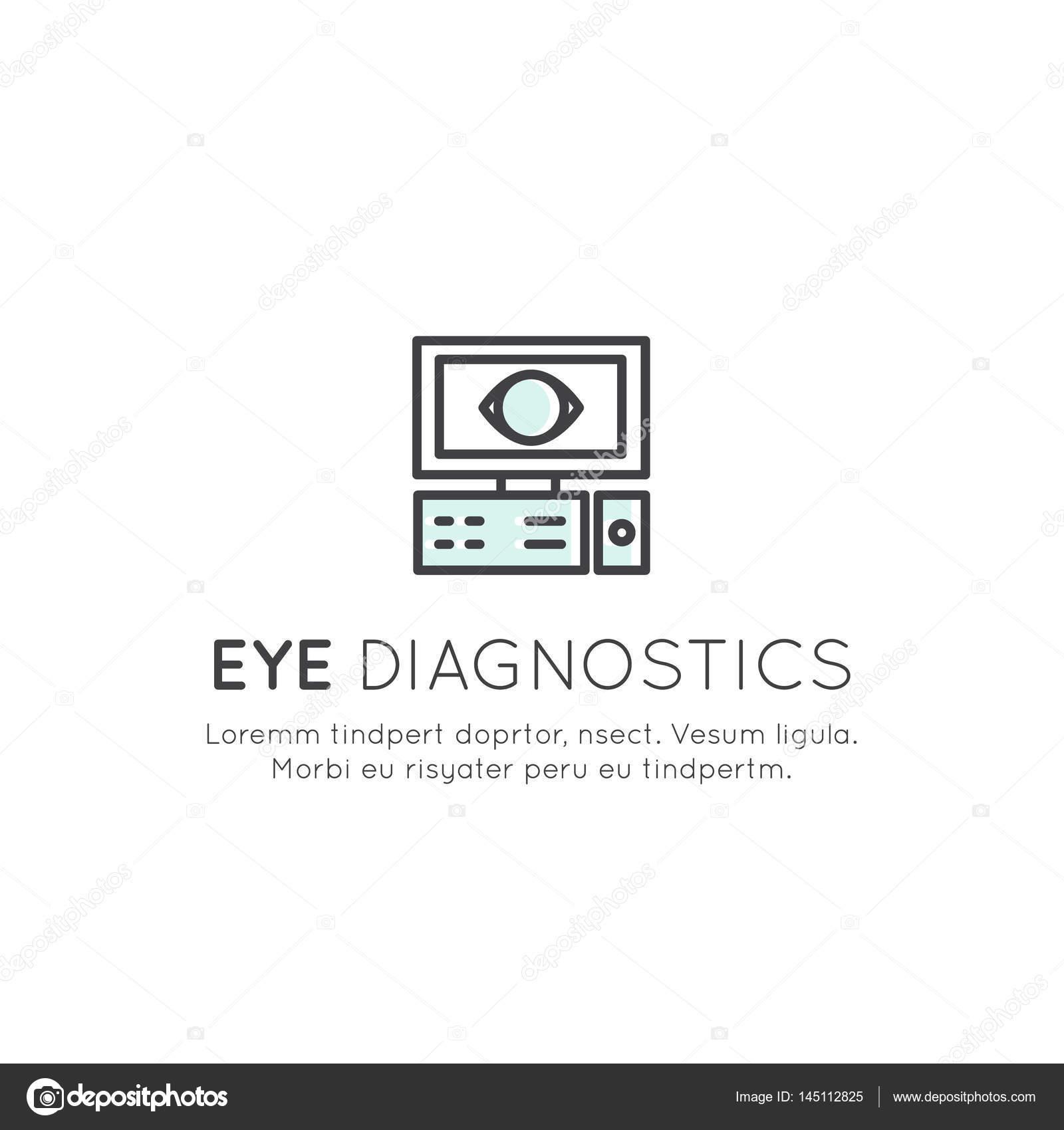 Logo Of Eye Surgery Diagnostic Treatment Professional Lab Stock Vector C Bub0bub0 145112825