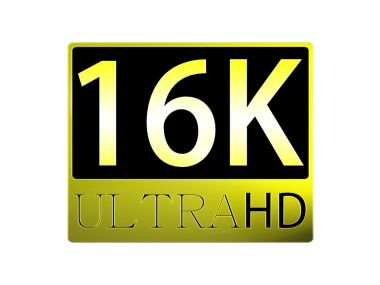 3d rendering of nice view of Ultra HD 16K picture