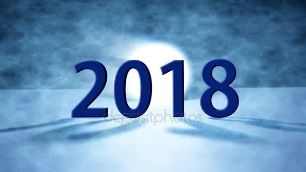 Boldog új évet 2018 background.2018 boldog új évet üdvözlőlap-ünnep