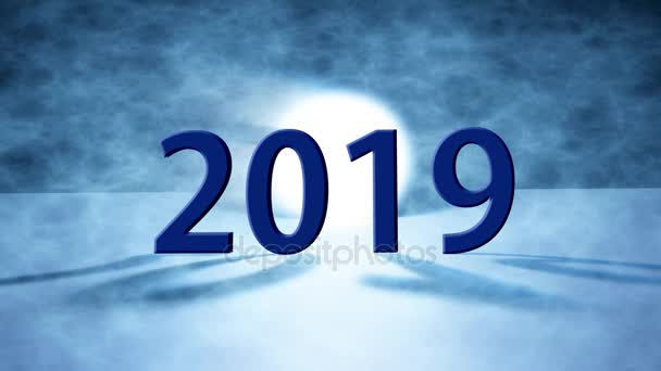 Happy new year 2019 holiday background2019 happy new year greeting happy new year 2019 holiday background2019 happy new year greeting card stock video m4hsunfo