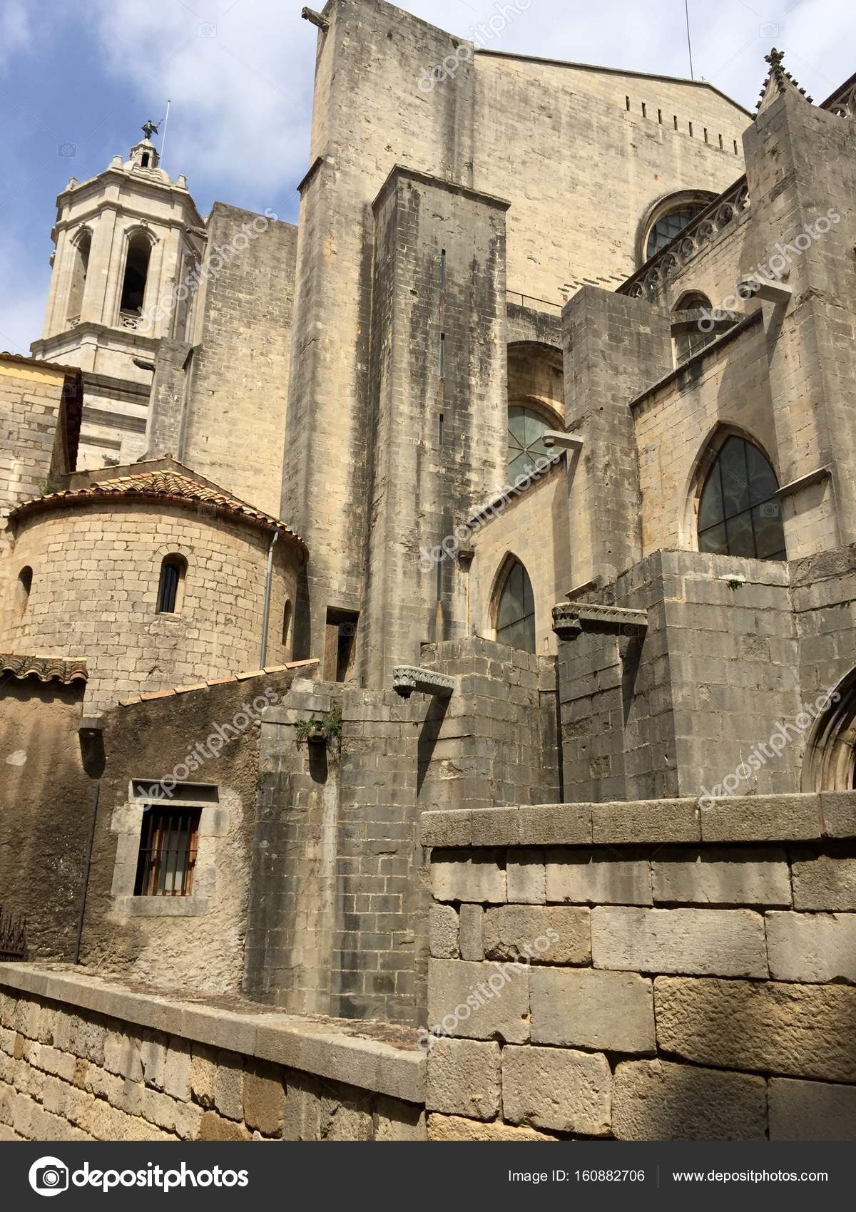 The Cathedral Of Girona Spain The Cathedral Of Saint Mary Fotos