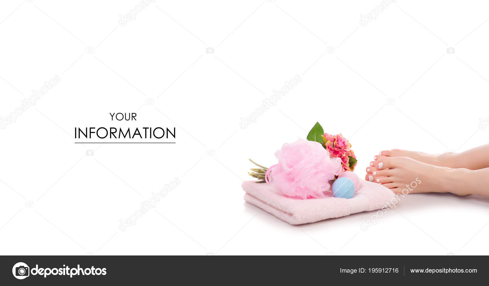 Female feet legs towel flowers bath sponge bubble bath beauty spa female feet legs towel flowers bath sponge bubble bath beauty spa pattern stock photo izmirmasajfo