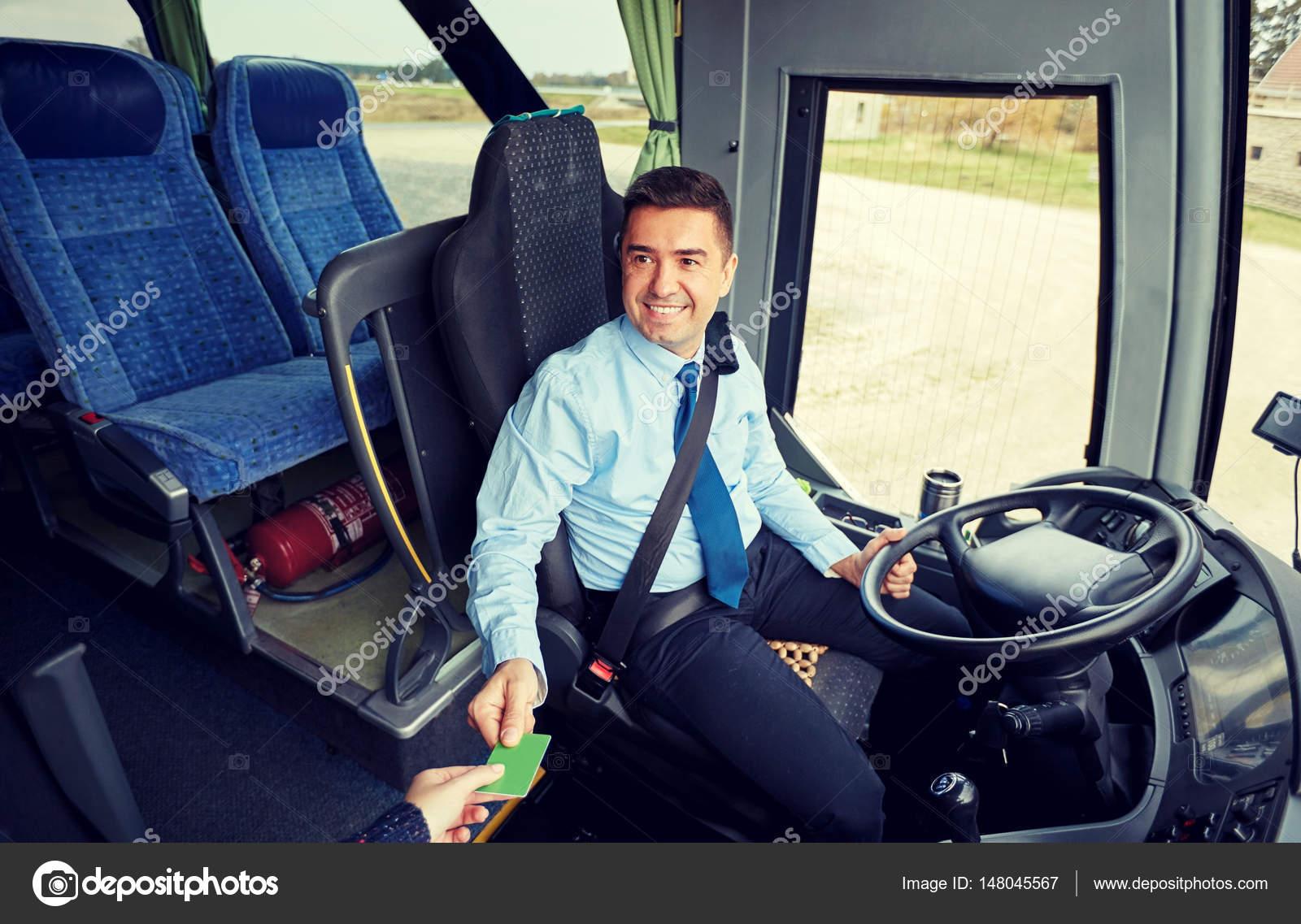 автобус водитель пассажир