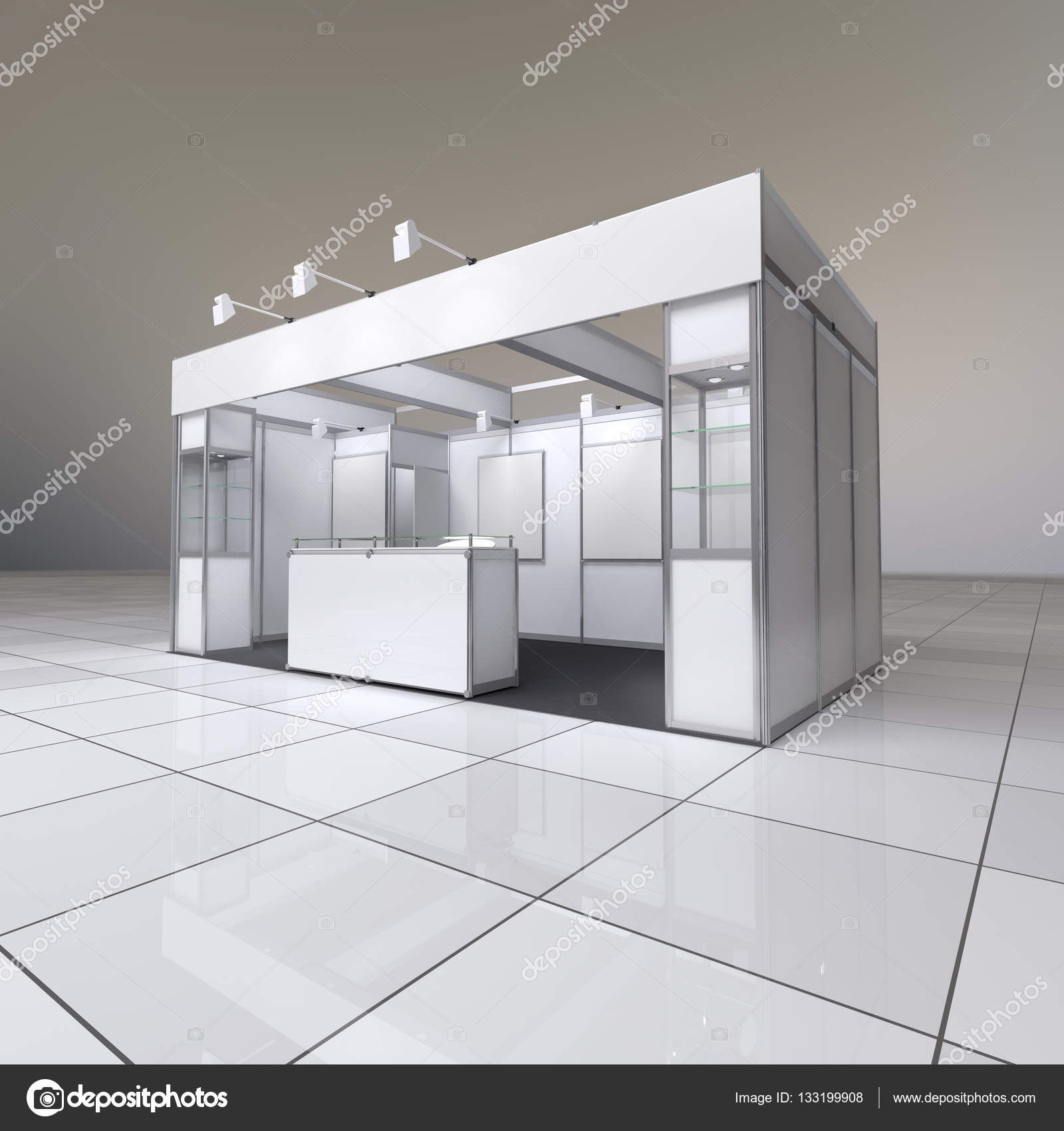 Exhibition Stand Reception : Abstract exhibition stand u2014 stock photo © whitehoune #133199908