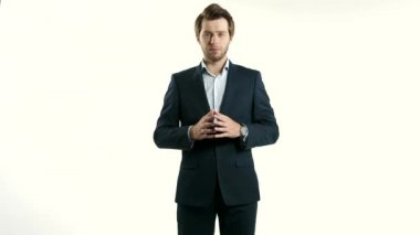 Handsome businessman, business concept