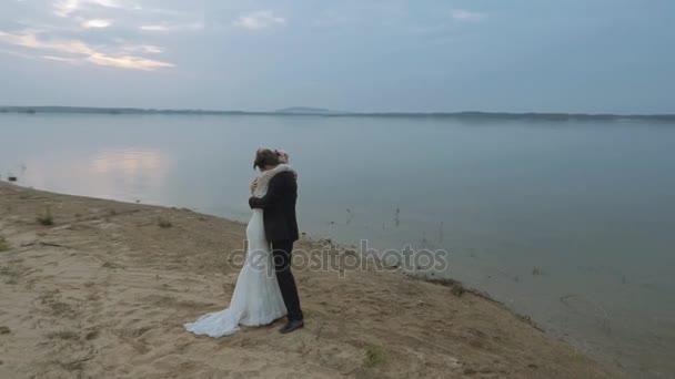 Marriage couple on the honeymoon