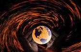 Modlete se za Irma herricane, modlit se za koncept světa