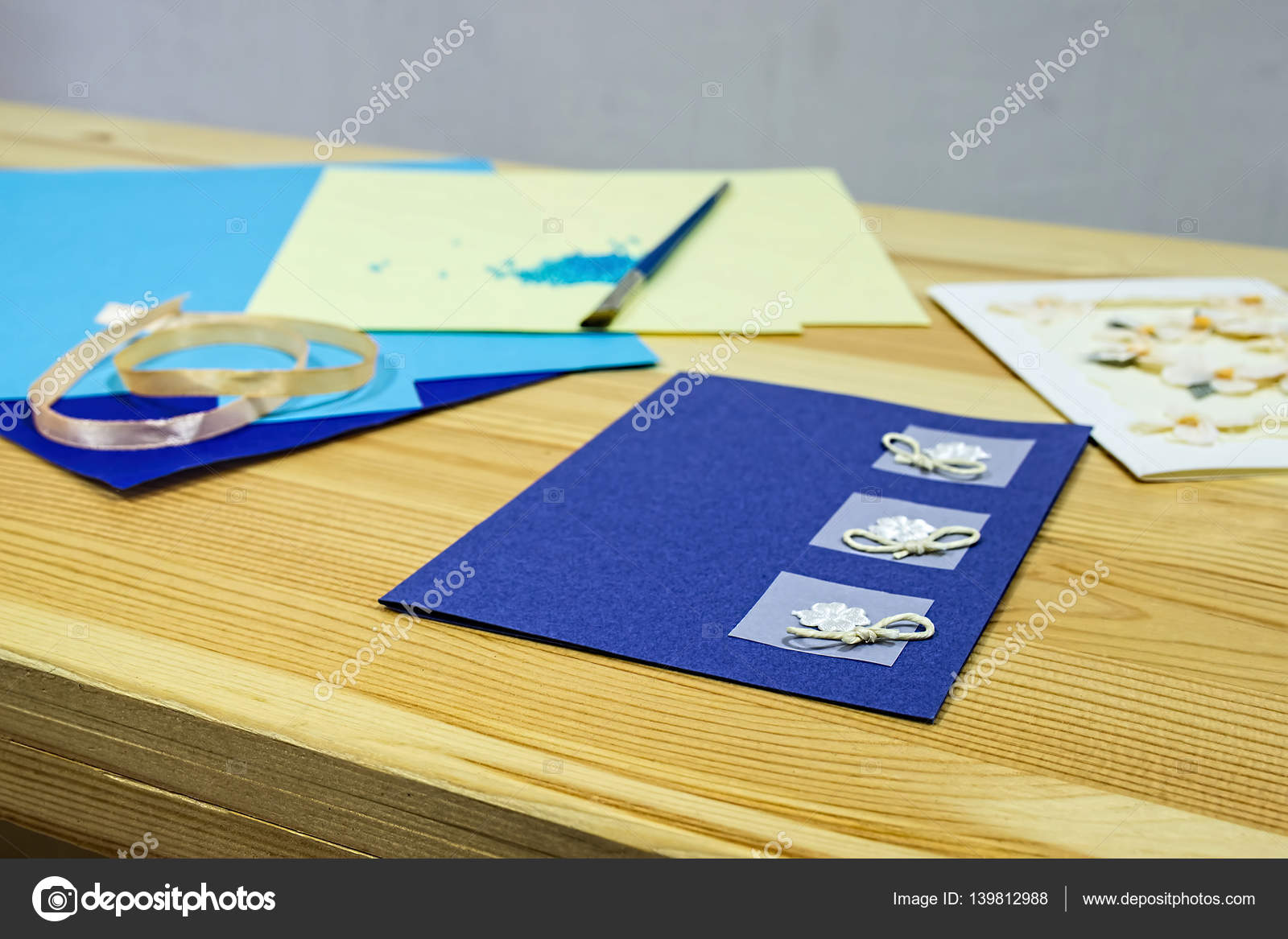 Craft Greeting Card Income From Hobbies Home Business Stock