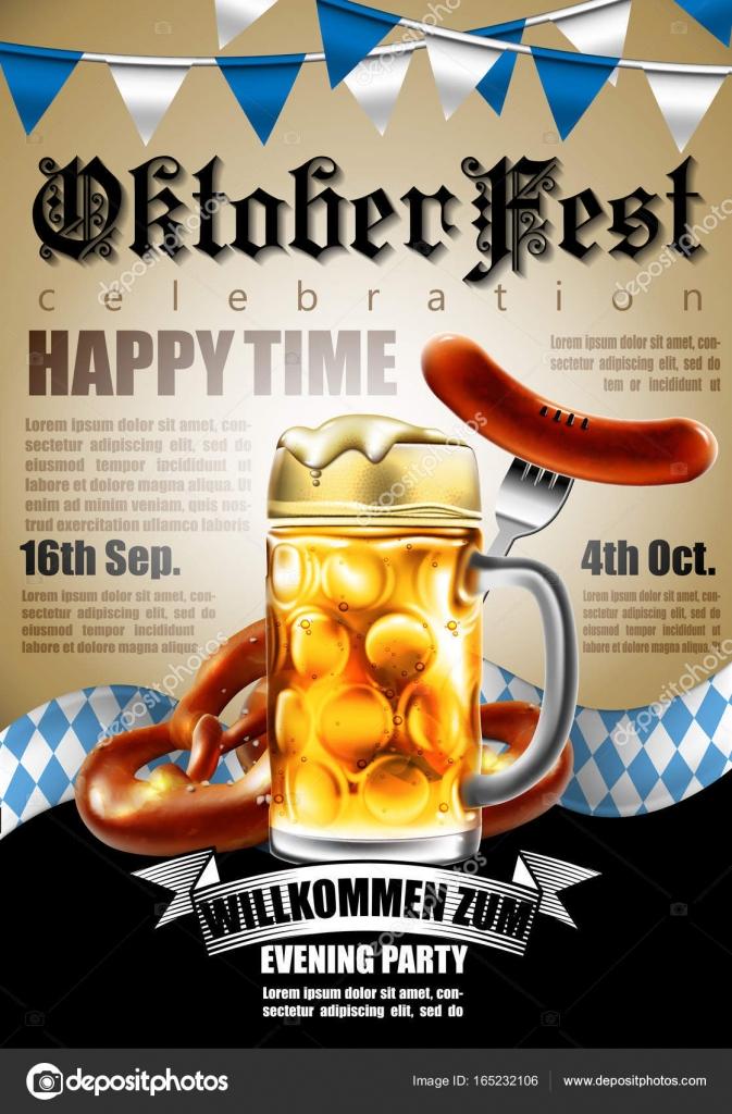 Design-Plakat mit Speisen und Getränken für traditionelles ...
