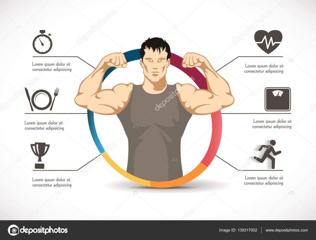 Fitness dieta hombre