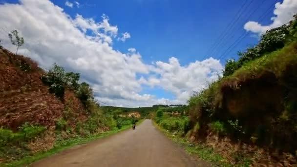 country road to horizon