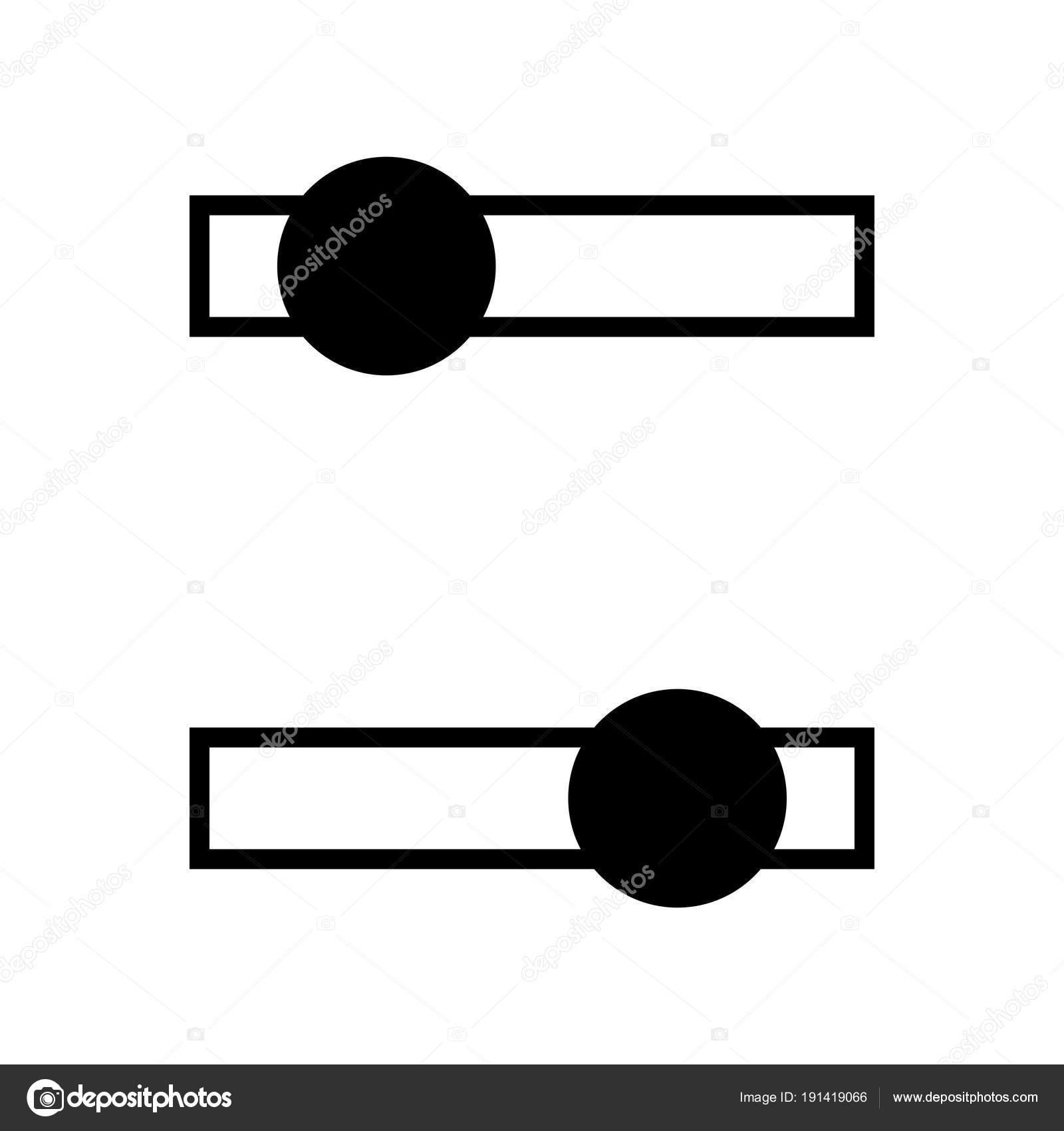 Schalter-Glyph-Symbol — Stockvektor © severynvlad.gmail.com #191419066