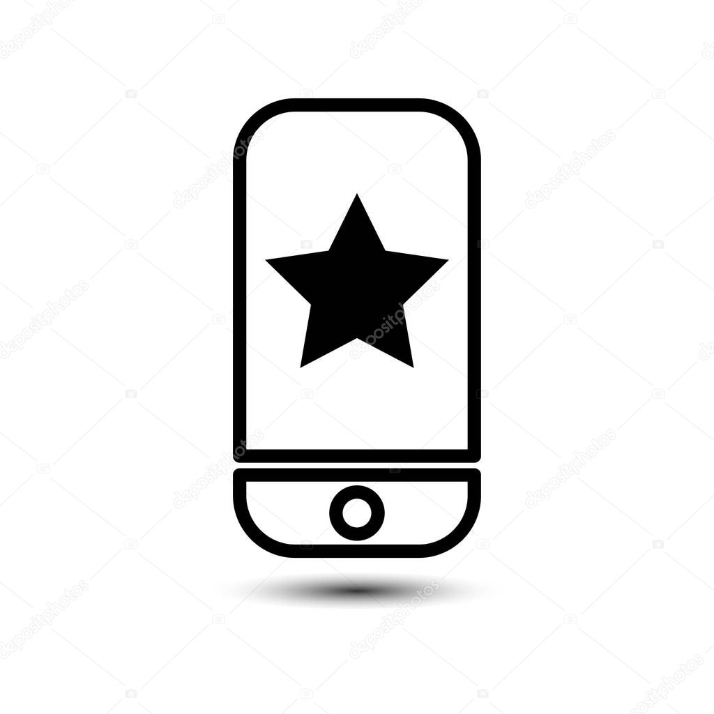 Mobile Phone With Favorite